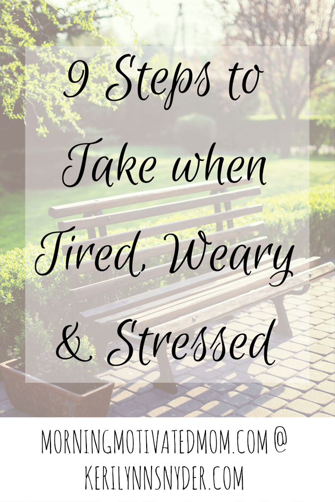Feeling tired? Take these 9 steps!