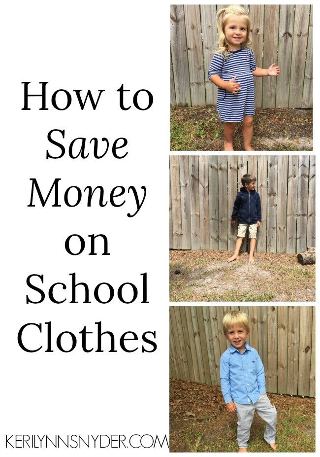 How to Save Money on School Clothes & Give Back!