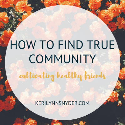 Finding True Community