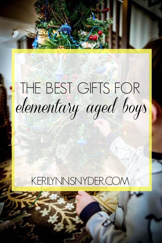 The best gifts for elementary age boys