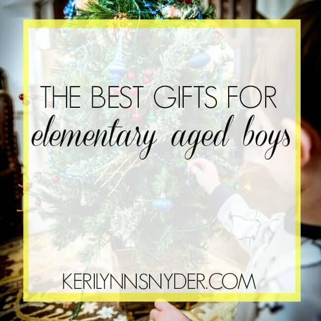 The perfect gift guide for elementary aged boys