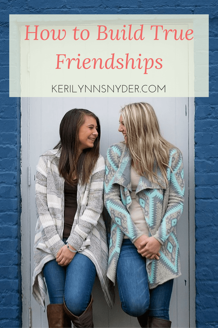 How do we choose kindness in every day life? How do we grow friendships as moms