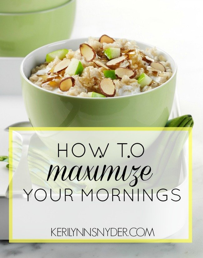 Learn how to make the most of your mornings as a mom