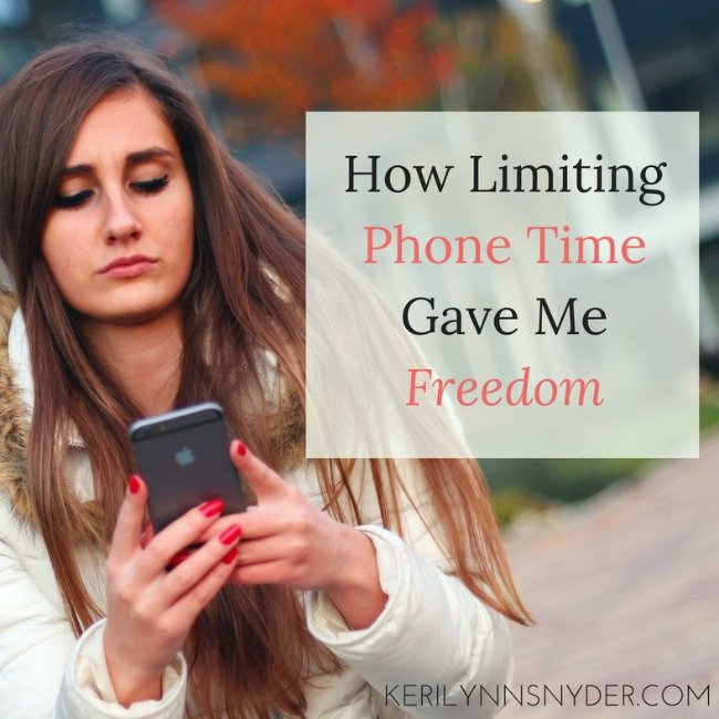 How Limiting Phone Time Gave Me Freedom