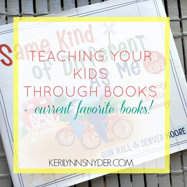 Teaching Your Kids Through Books