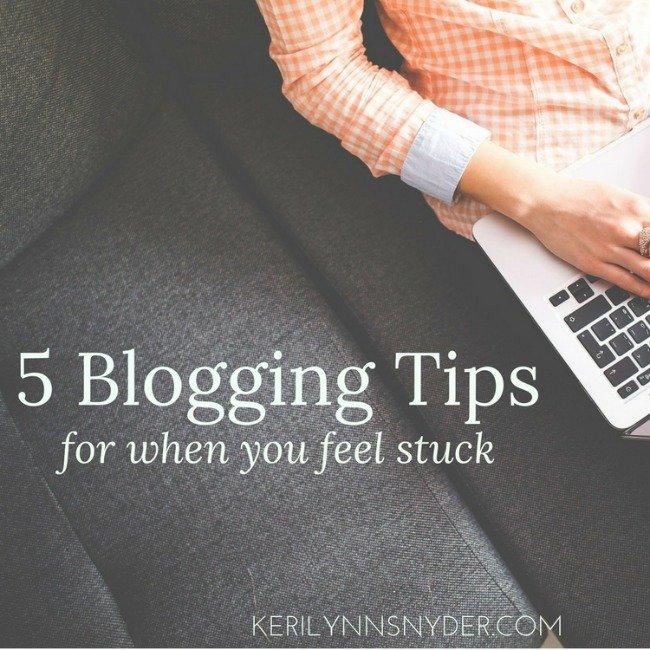5 Best Tips for Blogging