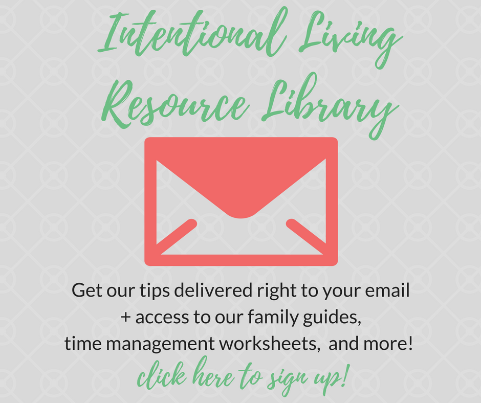 Intentional Living Resource Library