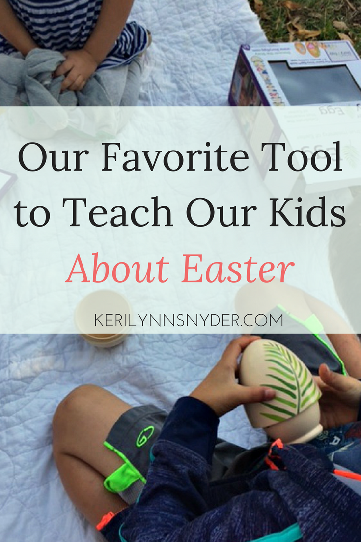The best tool to teach kids about Easter