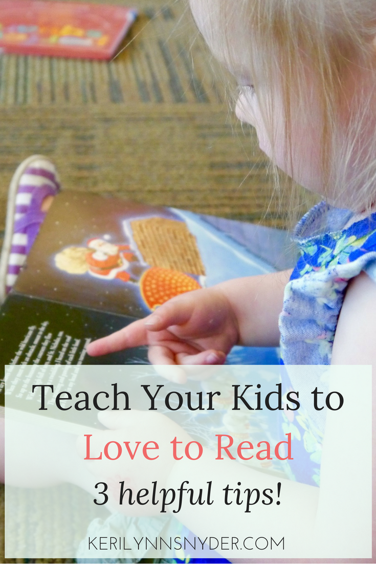 Teach Your Kids to Love to Read