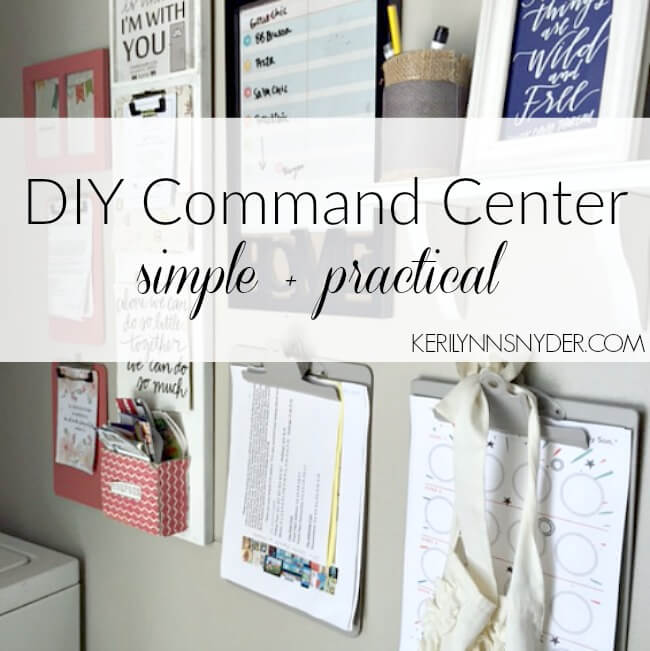 DIY Command Center