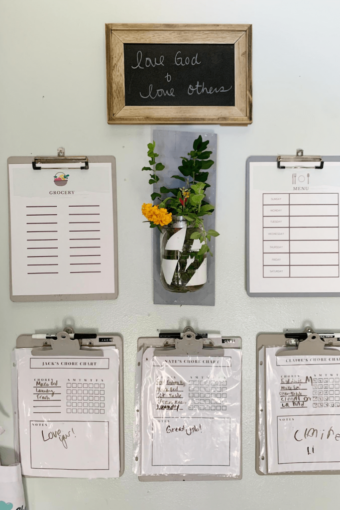 How to set up a family command center to help you stay organized