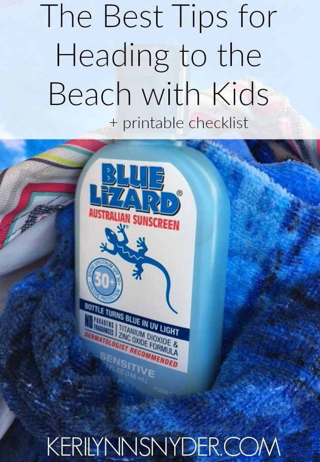 Learn how to make the beach with kids fun and easy! Plus a printable packing list.