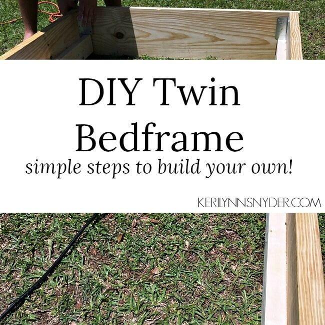 A Simple DIY Bed Frame