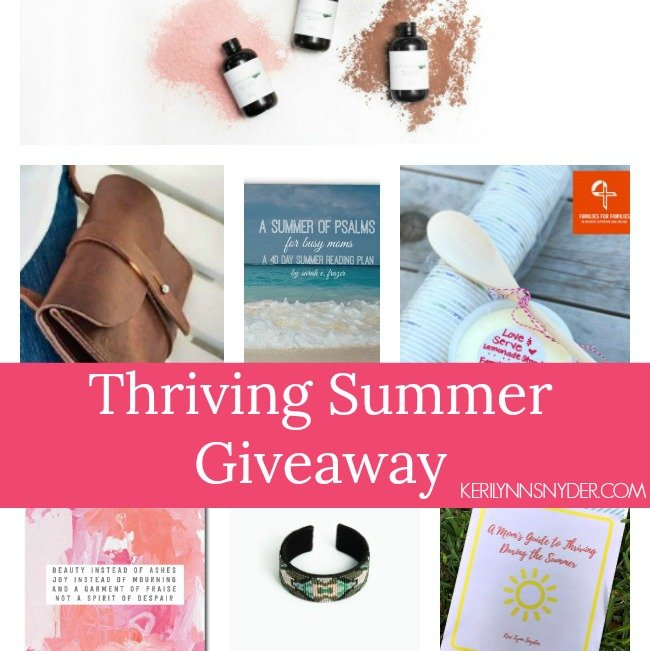 Thriving Summer Giveaway