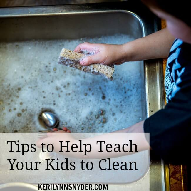 How to get your kids to help out around the house.