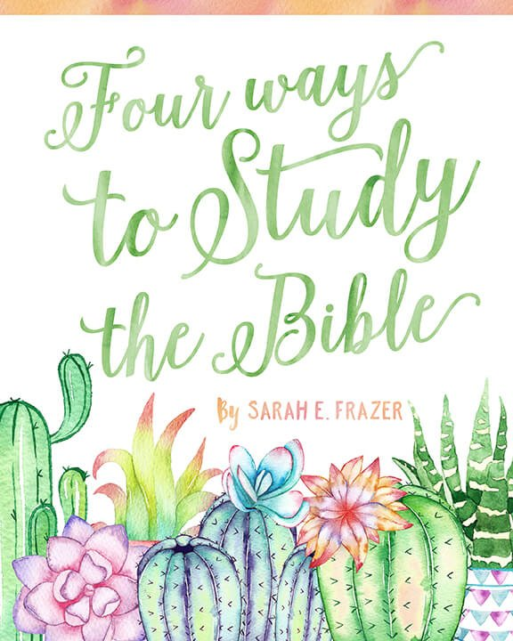 Four Reasons Why to Read Your Bible- How to Read Your Bible