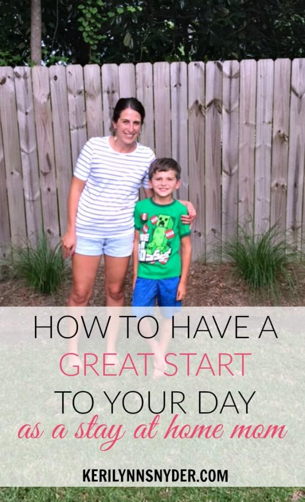 How to Get Your Morning Started Off Right as a Stay at Home Mom