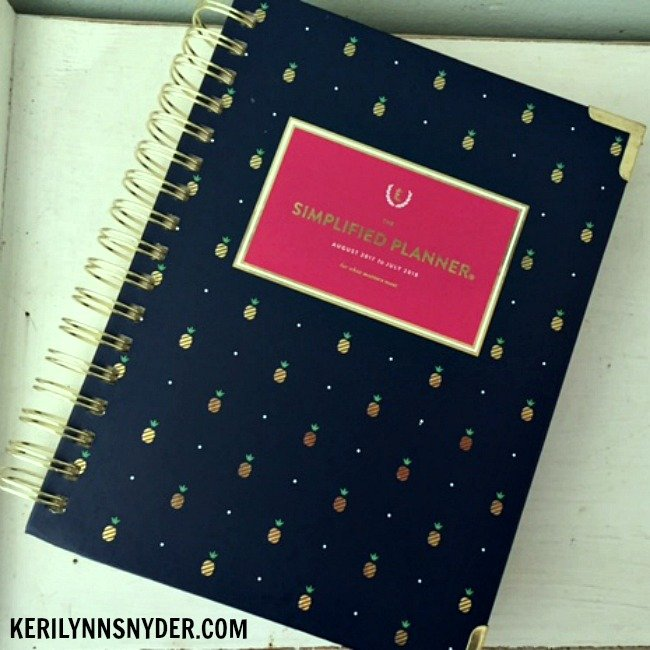 How I Use My Simplified Planner