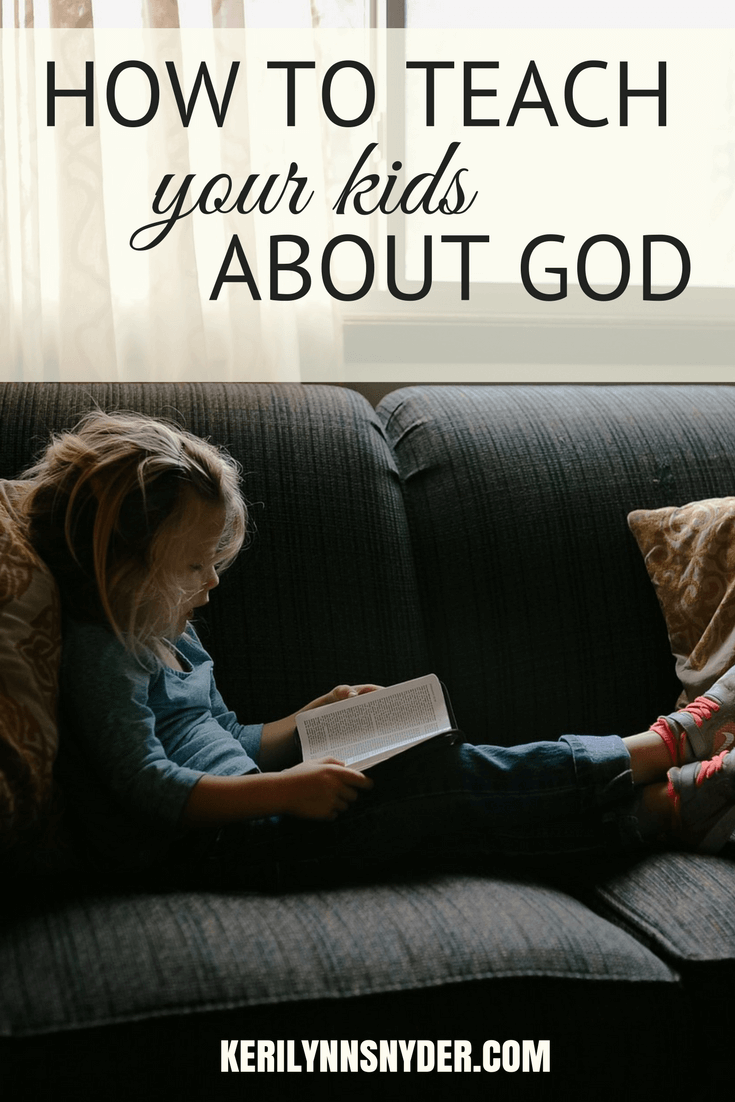 How to teach your kids about the Bible, Tips to help teach your kids about the Bible