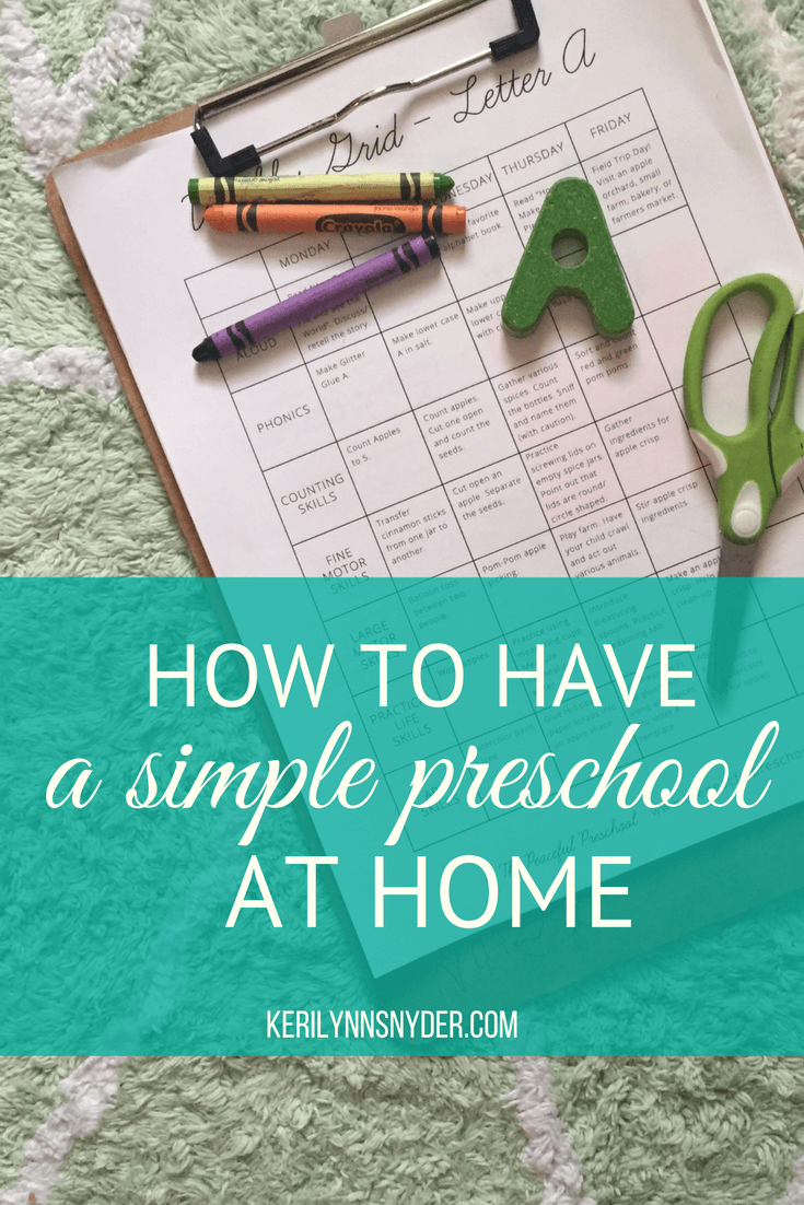 How to have preschool at home. How to start preschool. Tips for preschool