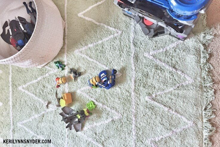 A room makeover for a boys' shared room and playroom- real life room makeover