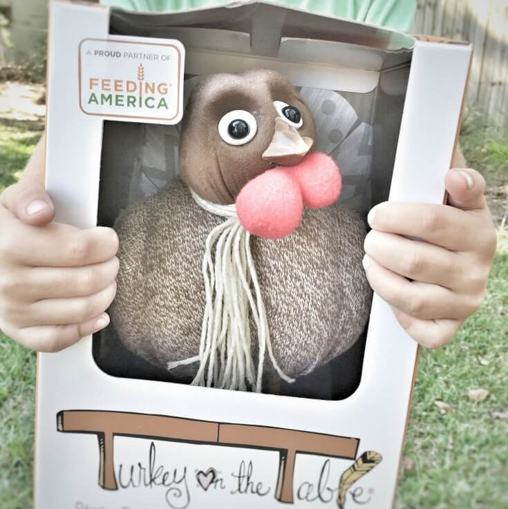 A great tool to help teach kids about gratitude, Turkey on the Table, Thanksgiving Tool