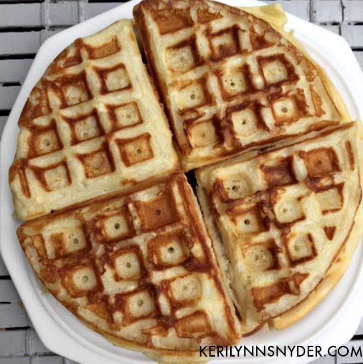 Easy breakfast, freezer waffles, DIY freezer waffles, make your own waffles