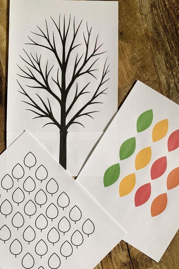 Printable Thankful Tree