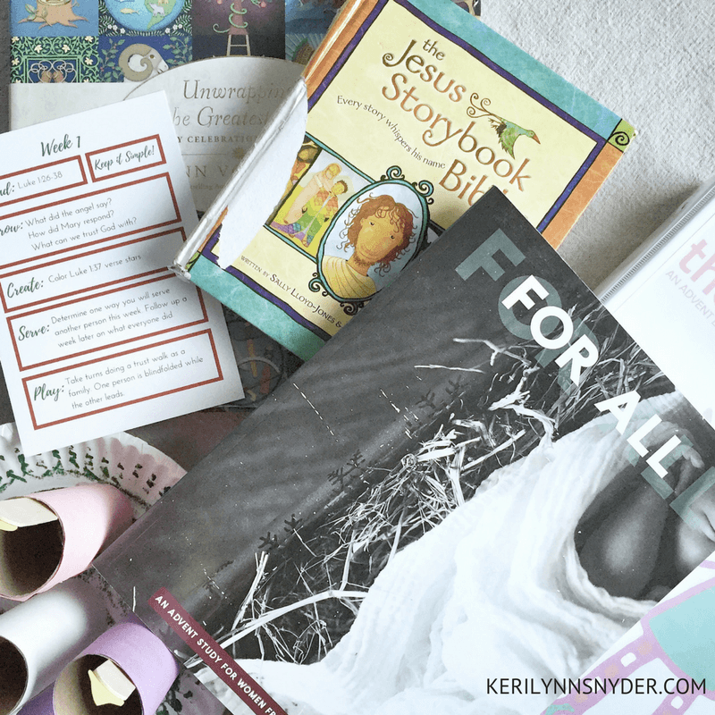 Intentional Christmas Activities for Kids, Advent for Kids