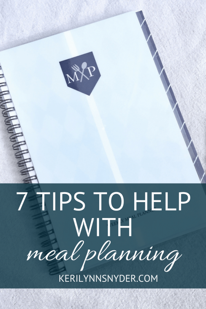 Meal Planning Tips for Busy Moms, Meal Planning Ideas
