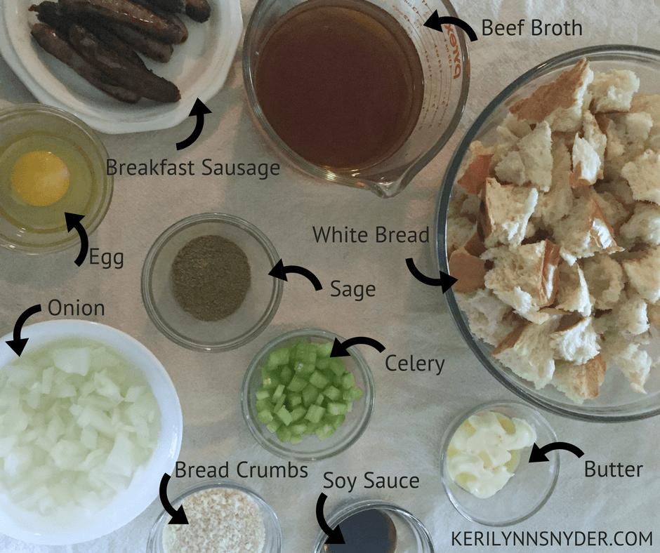Thanksgiving Stuffing Recipe- Slowcooker Stuffing