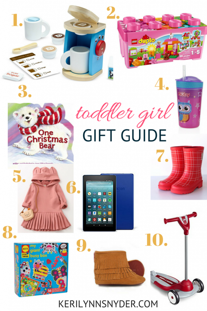 Toddler Girl Gift Guide- Gift Ideas for Toddlers