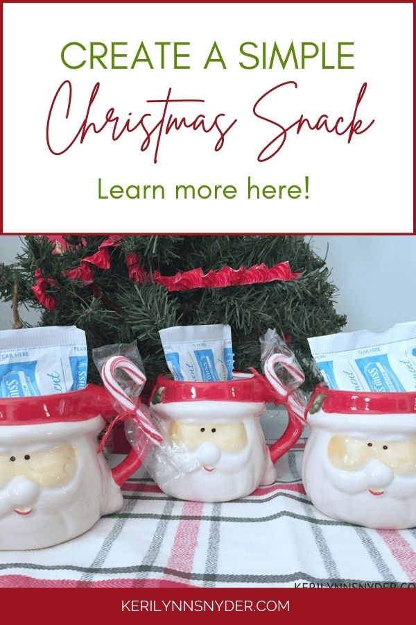 Have a Christmas tradition of a special after school snack with this fun idea!