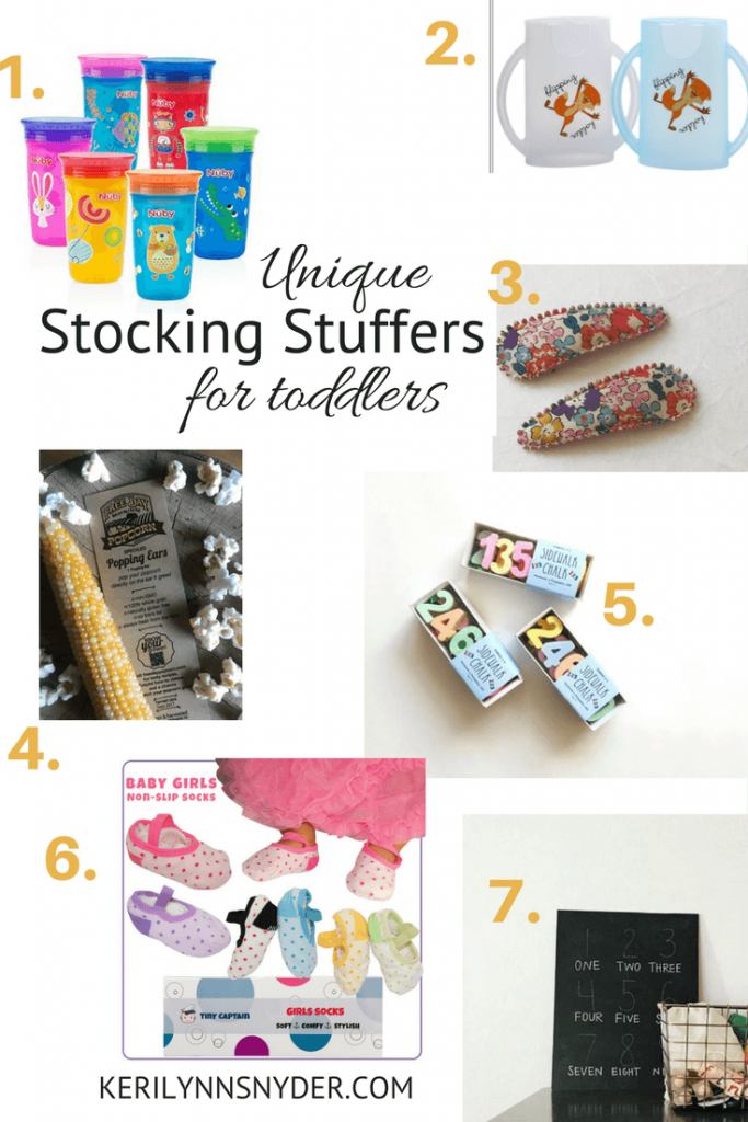 Unique stocking stuffers for toddlers, toddler stocking stuffer ideas