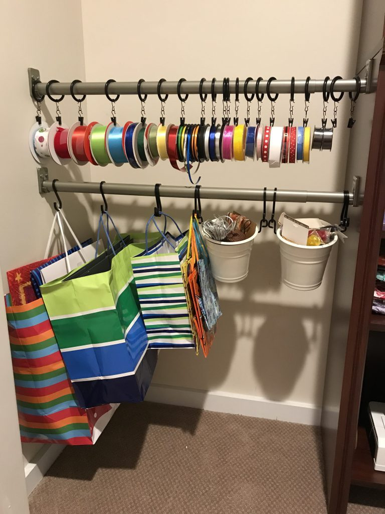 Craft Closet Organization