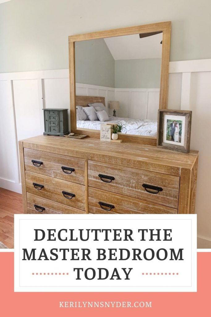 Get ready to declutter the bedroom with these tips!