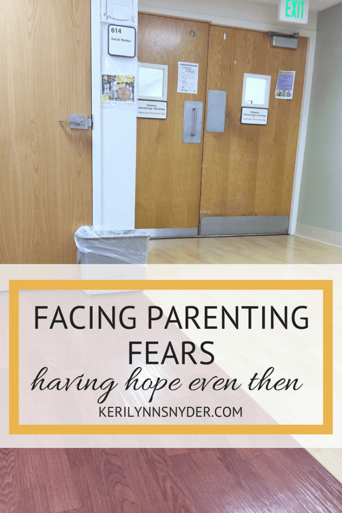 Learning how to cope with parenting fears