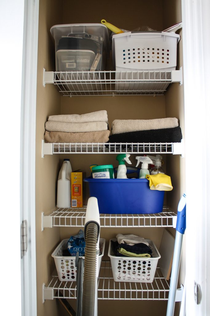 Clear the Clutter- How to organize your closets