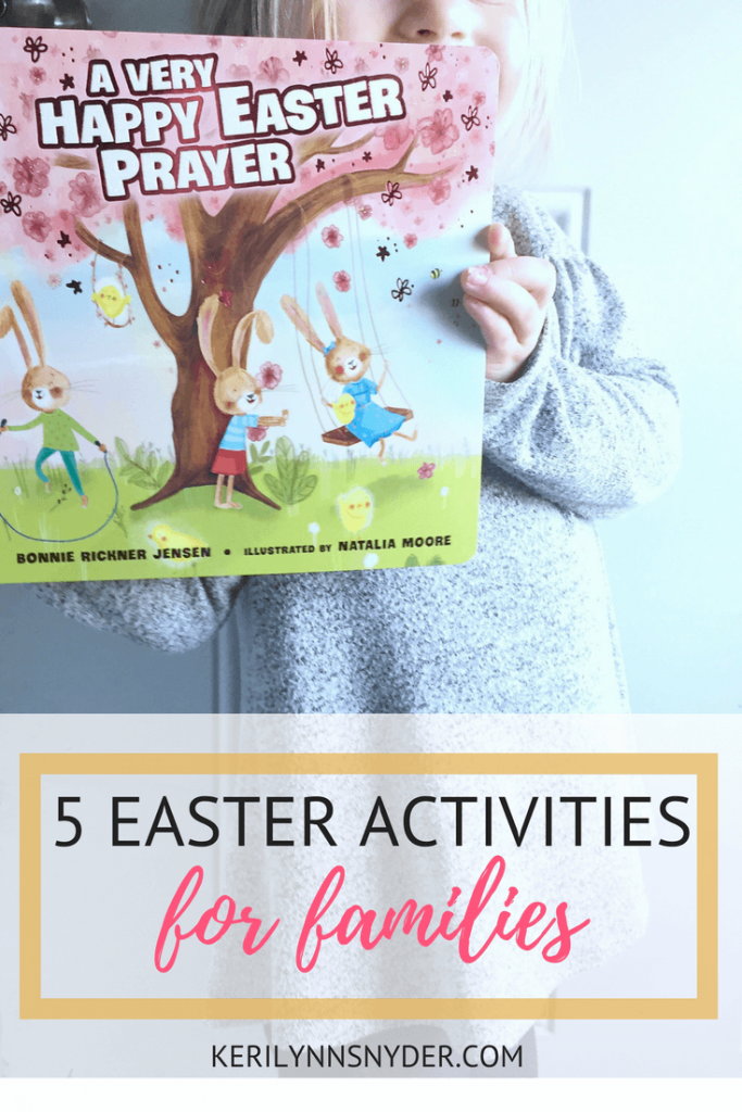 5 Easter activities for intentional families