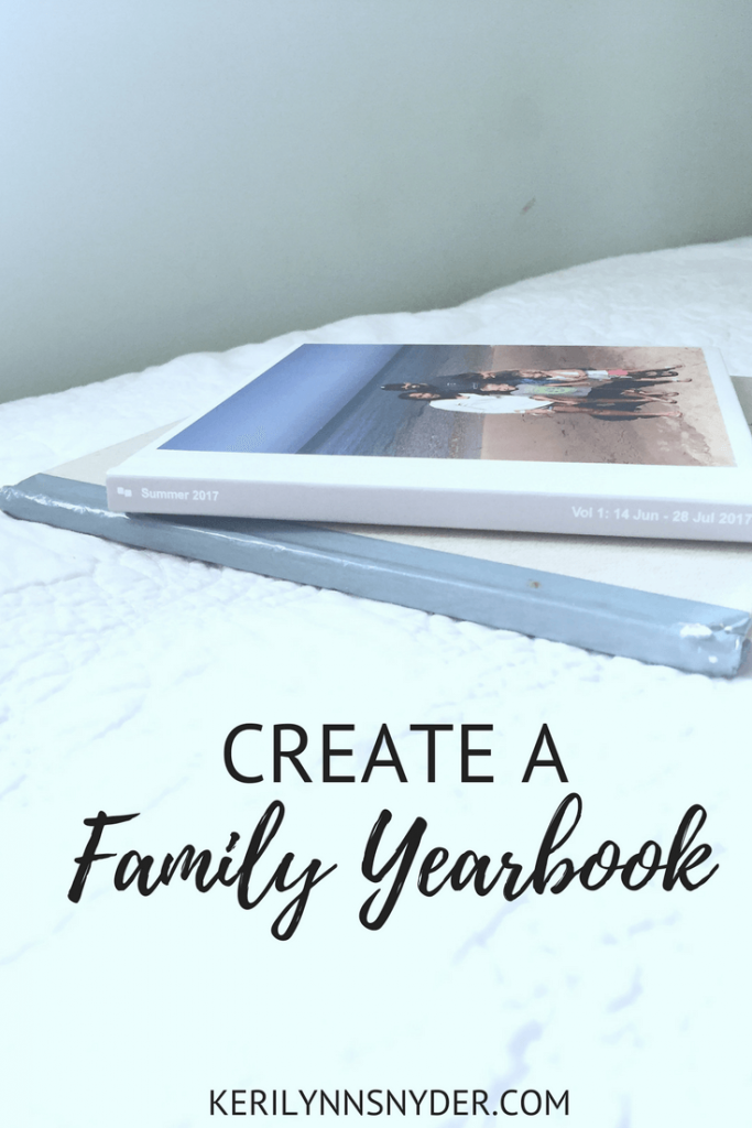 How to create a family yearbook- organizing photos