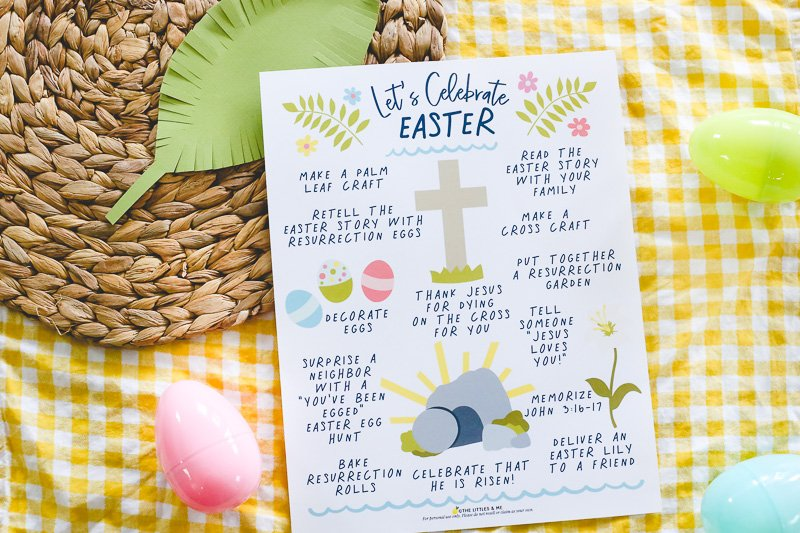 Free Easter Printables- Christ Centered Activity