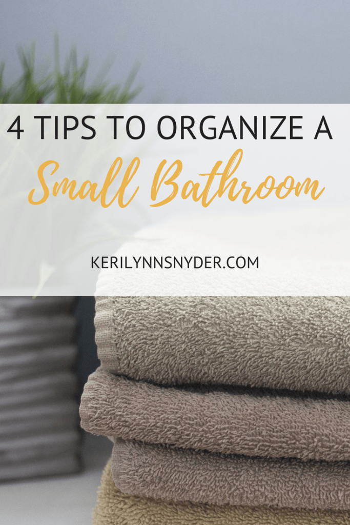Organize Small Bathroom, Lifestyle Blogger