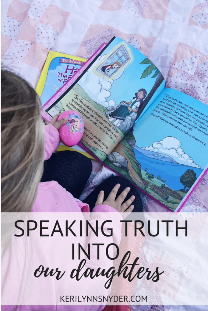 Speaking truth into our daughters with 3 practical ways