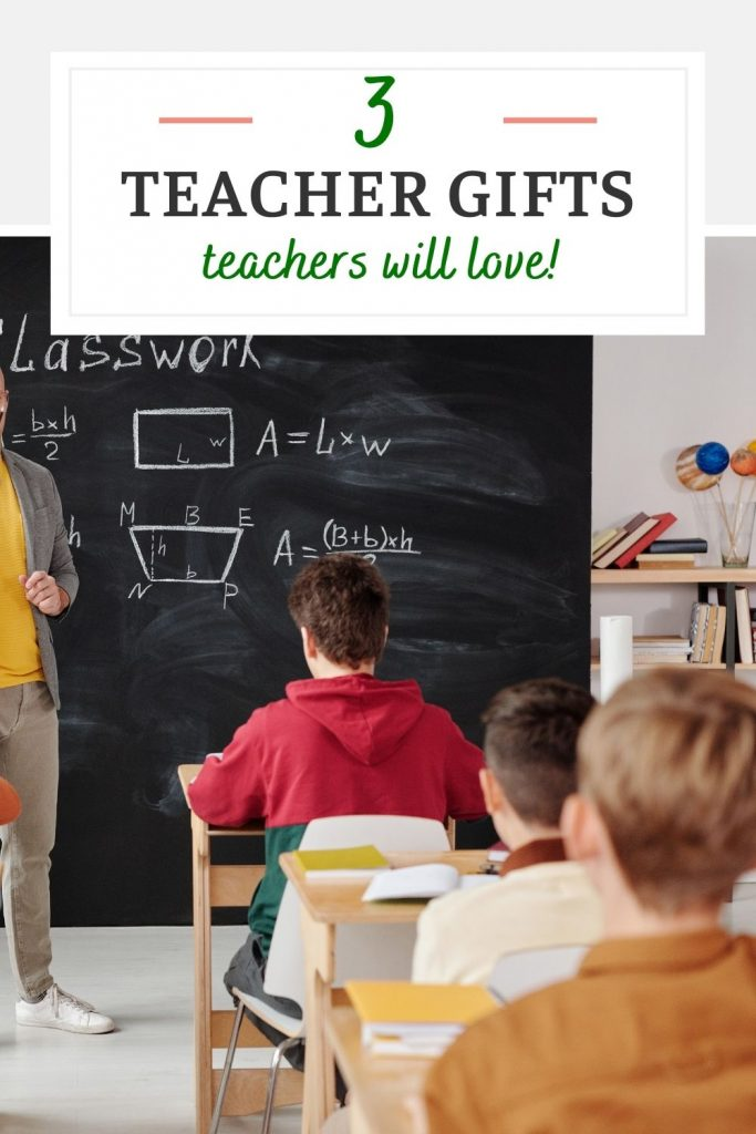 Three teacher appreciation gifts that teachers will actually love plus a free printable!