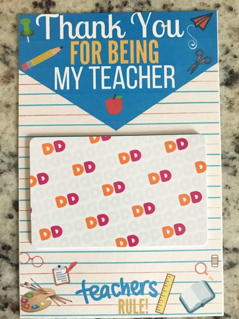 Three teacher appreciation gifts that teachers will actually love! Plus a free printable