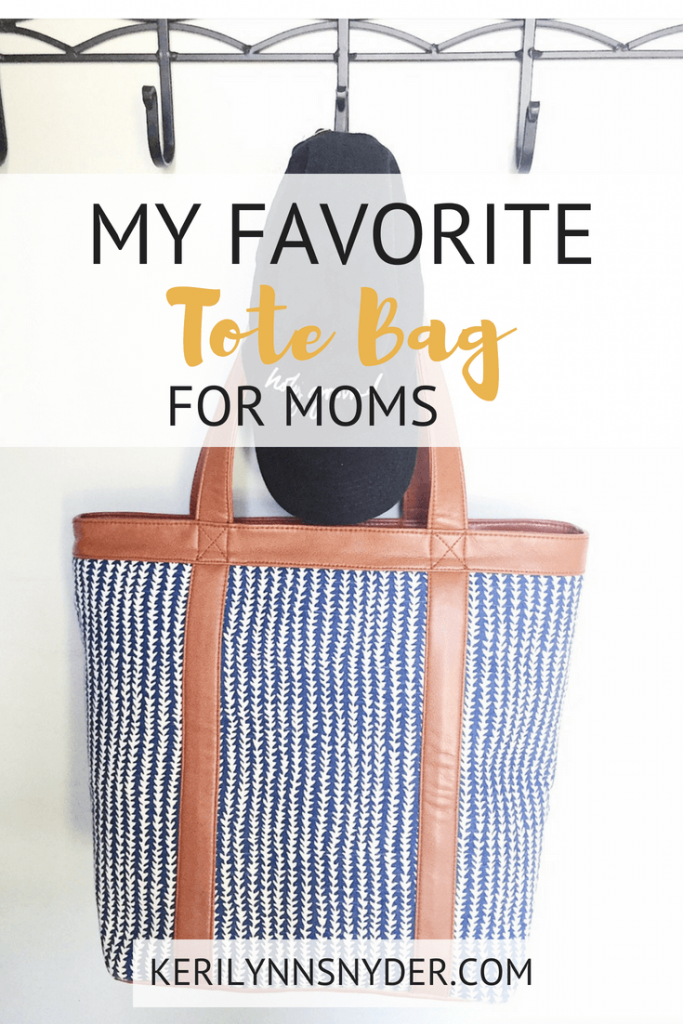 My favorite tote bag for moms, best moms tote bag