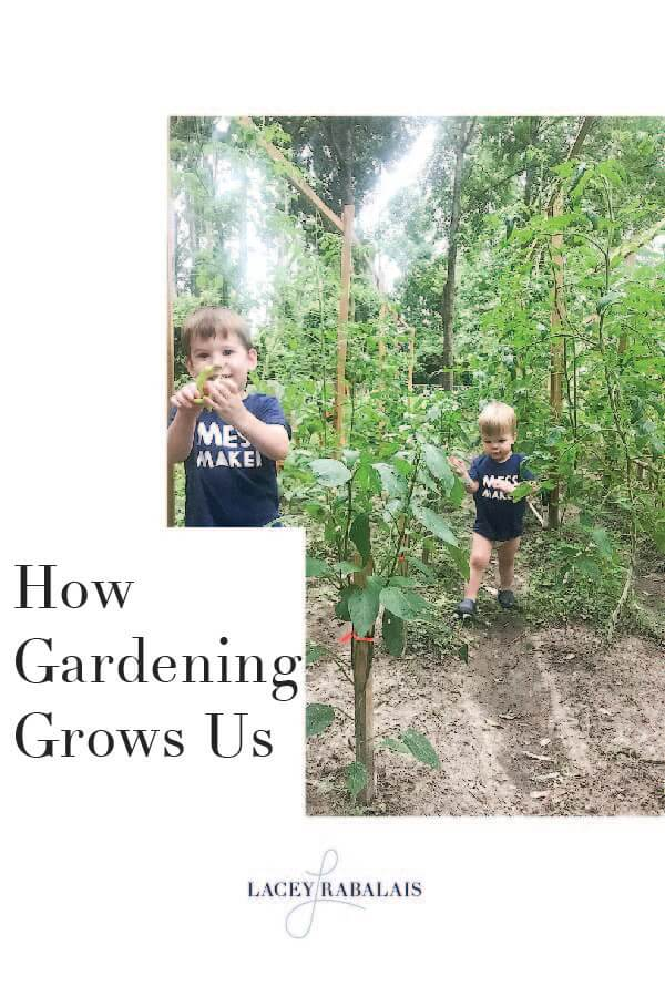 How Gardening Grows Us, Lifestyle Blogger