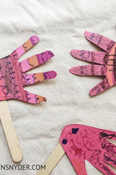 Ocean themed activities, fish hand print craft- Lifestyle Blog