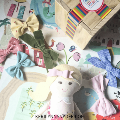 Preschool Girl Gift Ideas from Small Shops