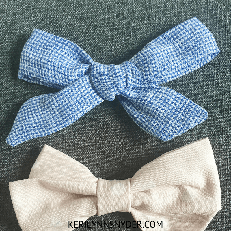 Preschool Girl Gift Ideas, Hair bows, Lifestyle Blog